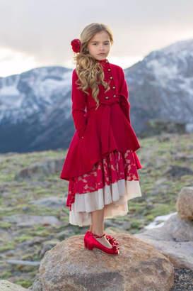 Joyfolie Red Holiday Coat