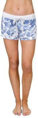 PJ Salvage Secret Garden Floral Print Pajama Shorts