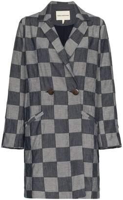 Mara Hoffman Dolly Checked Jacket