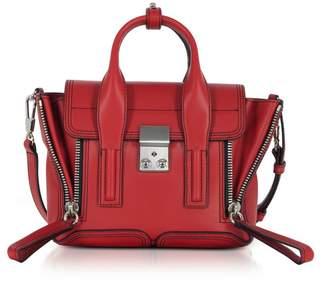 3.1 Phillip Lim Scarlet Leather Pashli Mini Satchel Bag