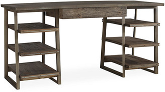 Blaine Tiered Desk - Natural - Brownstone Furniture