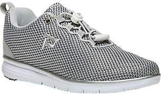 Propet Knit Sneakers - TravelFit Prestige $65 thestylecure.com