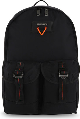Diesel Logo backpack $121 thestylecure.com