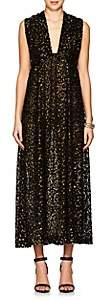 Barneys New York Women's Leopard-Print Fil Coupé Maxi Dress