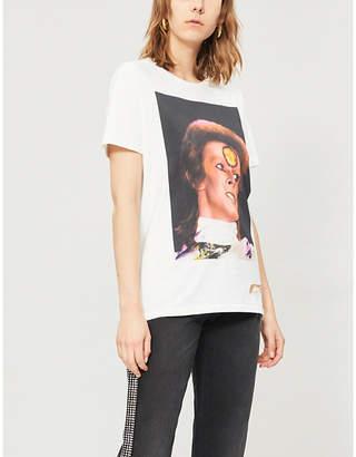 d0258aa260 PAT MCGRATH LABS David Bowie-print cotton-jersey T-shirt