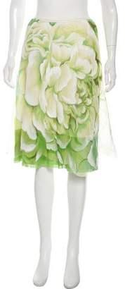 Rozae Nichols Floral Knee-Length Skirt