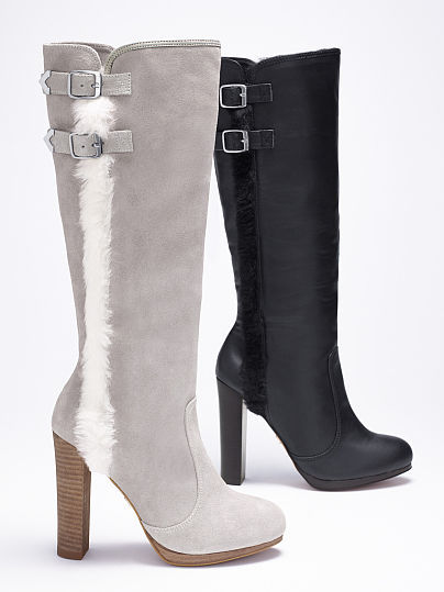 Victoria's Secret Collection Double-buckle Boot