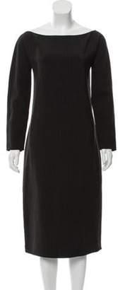 Ralph Lauren Long Sleeve Midi Dress Black Long Sleeve Midi Dress