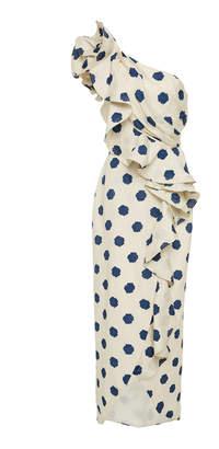 Johanna Ortiz Exclusive Japanese Décor Printed Dress Size: 0