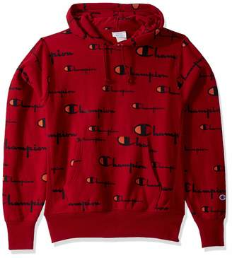 Champion Life Men's Reverse Weave Pullover Hoodie All-Over Print