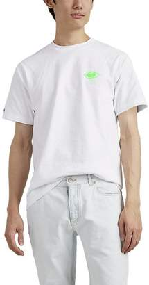 """Wu Wear Men's """"Straight From The Grains"""" Cotton T-Shirt - White"""