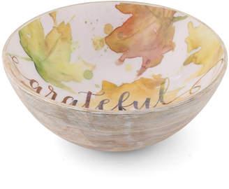 Thirstystone Grateful Wood/Enamel Bowl