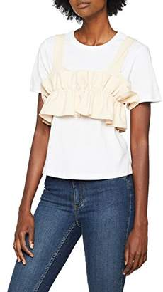 Endless Rose Women's Olive T-Shirt,(Size:Medium)