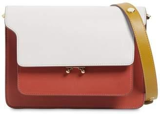 Marni Medium Tricolor Leather Trunk Bag