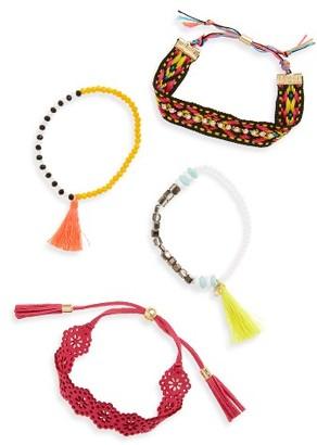 Women's Baublebar Pomai Set Of 4 Bracelets $48 thestylecure.com