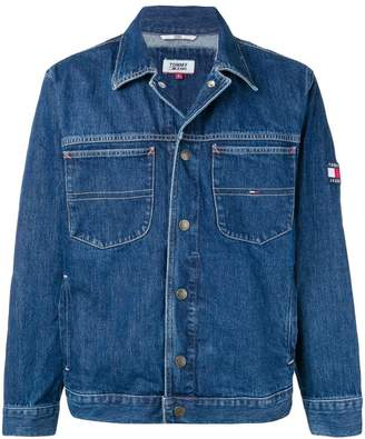 Tommy Jeans embroidered logo jacket