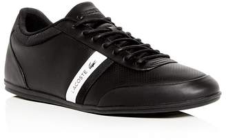 Lacoste Men's Storda Perforated Leather Lace Up Sneakers