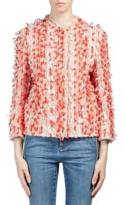Cocoon Painterly Tweed Jacket