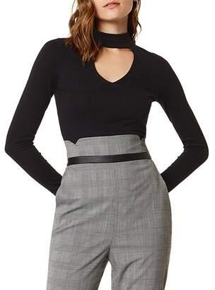 Karen Millen Slim Cutout Top
