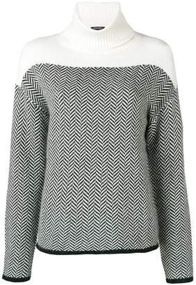 Woolrich wool turtle neck jumper