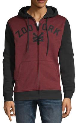 Zoo York Hooded Midweight Fleece Jacket