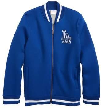 Majestic MLB Classical Los Angeles Dodgers Knit Varsity Jacket