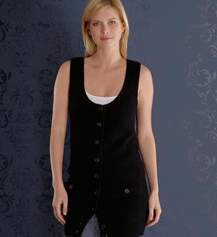 Pocket Cardigan Vest
