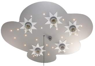 Hello Kitty Niermann Standby Ceiling Light, Wood, Multi-Colour, E14