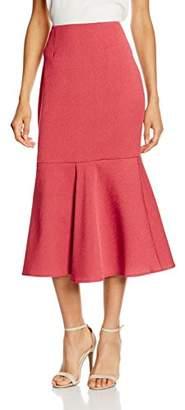Keepsake Women's Two FOLD Skirt, (Red Ochre), (Size:Medium)