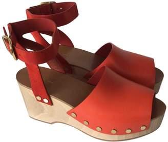 Celine Leather mules & clogs