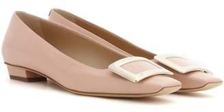 Roger Vivier Belle Vivier patent leather ballet flats