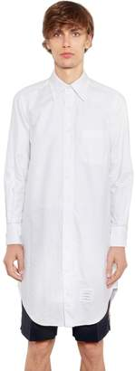 Thom Browne Oxford Long Cotton Shirt