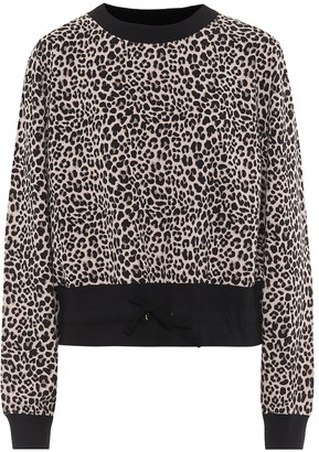 Varley Arden cotton-blend sweatshirt