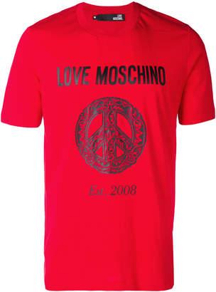 Love Moschino Love Peace T-shirt