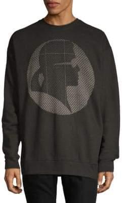 Graphic Crew Sweatshirt