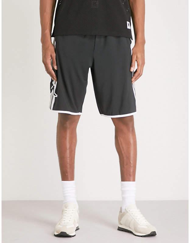 KAPPA KONTROLL Logo-print woven shorts