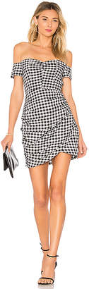 by the way. Roselyn Gingham Off Shoulder Dress