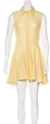Alexander McQueen Lace Button-Up Dress