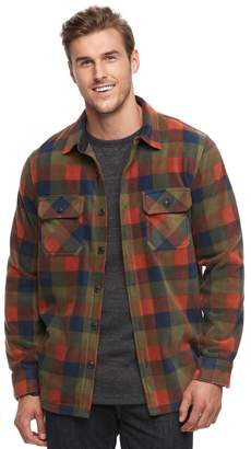 Croft & Barrow Big & Tall Arctic Fleece Shirt Jacket