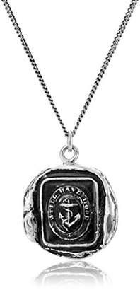 Pyrrha Talisman Men's Sterling Anchor Pendant Necklace