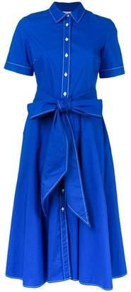 P.A.R.O.S.H. short-sleeve flared dress