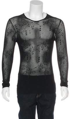 Gianni Versace Knit Crew Neck Sweater