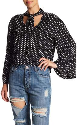 One Teaspoon Bonnie Ace Polka Dot Tee