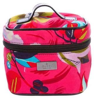 Gucci Canvas Cosmetic Handle Bag