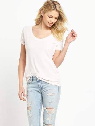 Denim & Supply Ralph Lauren Ralph Lauren V-Neck T-Shirt - Petal Pink