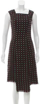 Anna Sui Wool Patterned Dress