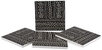 Thirstystone Mud Cloth 4-Pc. Coaster Set