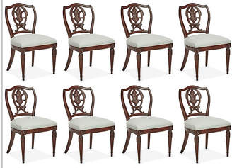 One Kings Lane Vintage 1940s Italian Dining Chairs - Set of 8 - Mark D. Sikes