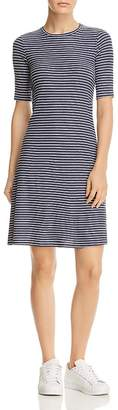 Three Dots Hyannis Stripe Tee Dress