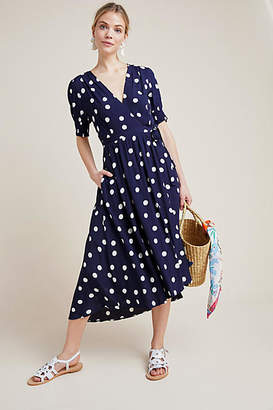 Maeve Polka Dot Wrap Dress